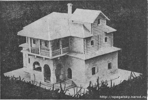 Старая часть дома Печенко.